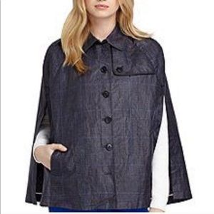 Brooks Brothers red fleece | rain poncho jacket M